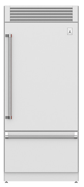 "Hestan 36"" Bottom Mount Refrigerator with Top Compressor"