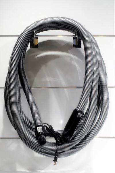 Nilfisk 35' Central Vacuum Hose - Dual Voltage - CBEZ138035-I