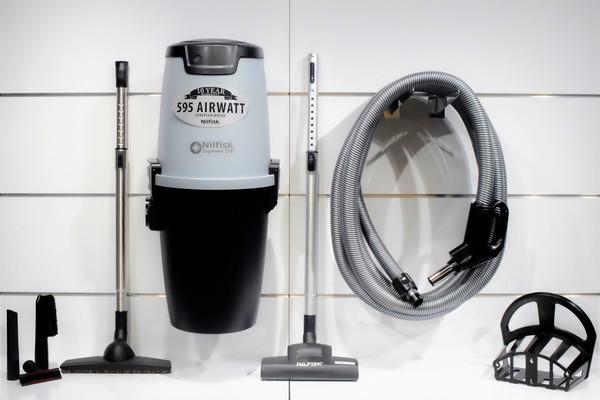 Nilfisk Supreme 150 Central Vacuum w/ Superior Package - 107404978 + SU10M