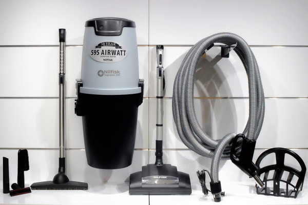 Nilfisk Supreme 150 Central Vacuum w/ Chateau Package - 107404978 + CH10M