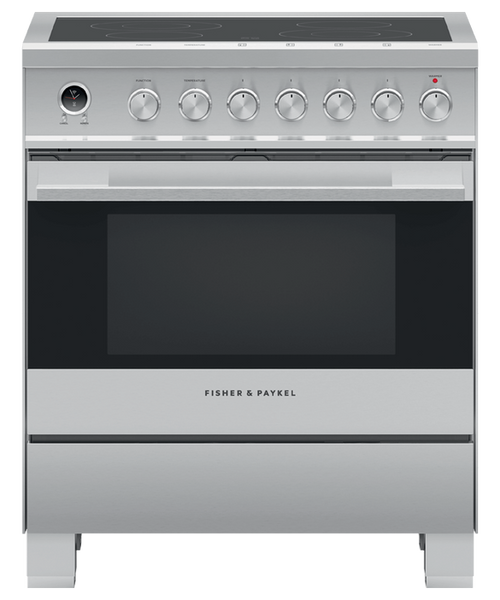 """Fisher & Paykel 30"""" Contemporary Electric Range"""