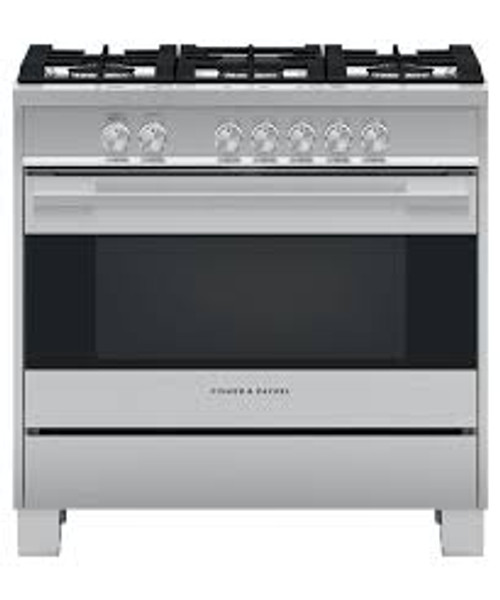 "Fisher & Paykel 36"" Contemporary Gas Range"