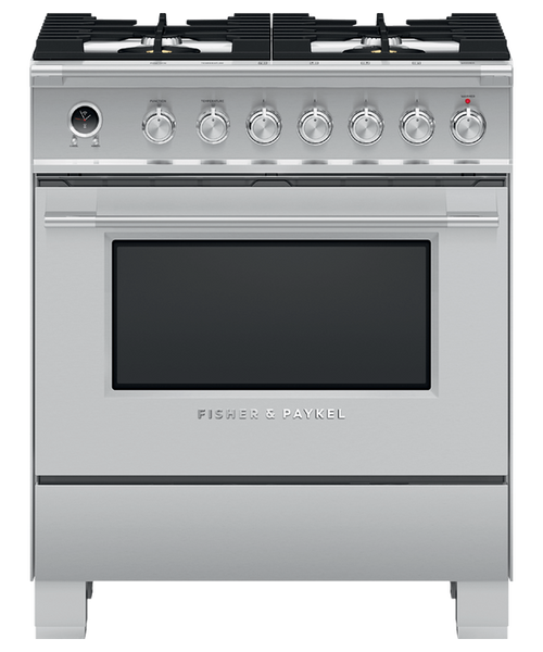 "Fisher & Paykel 30"" Classic Dual Fuel Range - Stainless Steel"