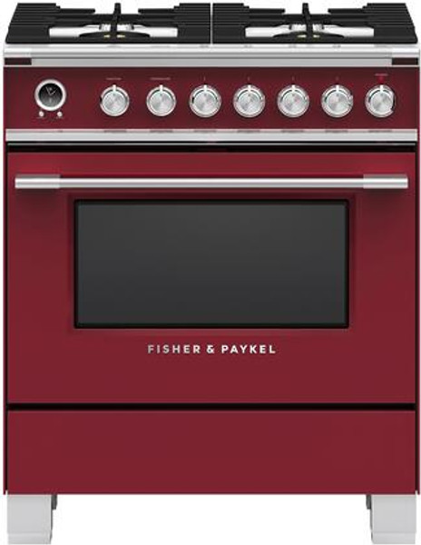 """Fisher & Paykel 30"""" Classic Dual Fuel Range - Color"""
