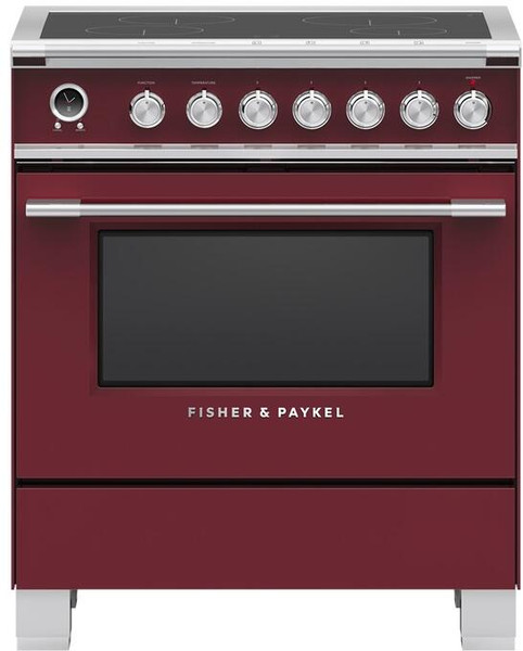 """Fisher & Paykel 30"""" Classic Induction Range - Color"""