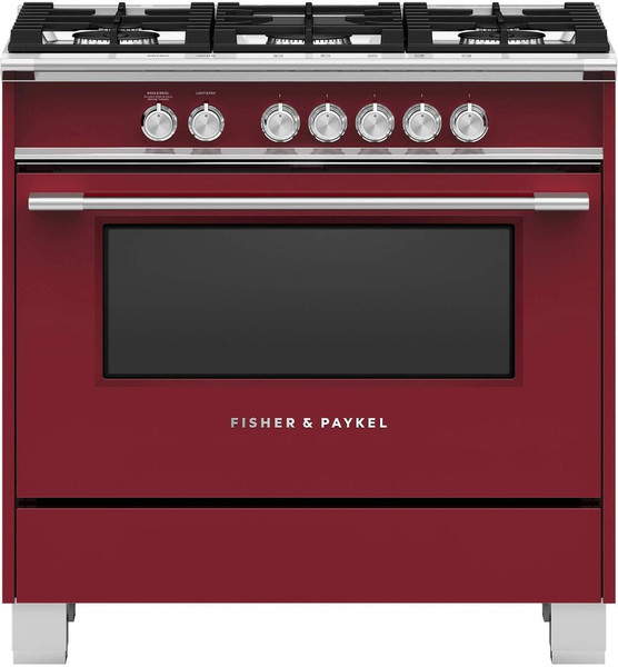 """Fisher & Paykel 36"""" Classic Gas Range - Color"""