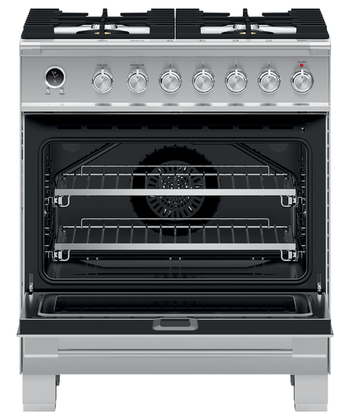 """Fisher & Paykel 36"""" Classic Dual Fuel Range - Stainless Steel"""