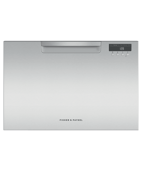 Fisher & Paykel Contemporary Stainless Steel Dishwasher - Single Drawer
