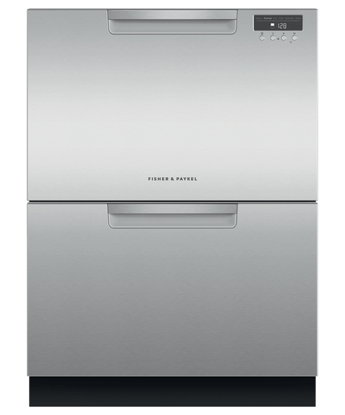 Fisher & Paykel Contemporary Stainless Steel Dishwasher - Double Drawer