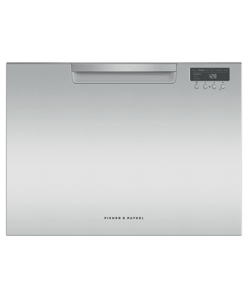 Fisher & Paykel Contemporary Stainless Steel Tall Dishwasher - Single Drawer
