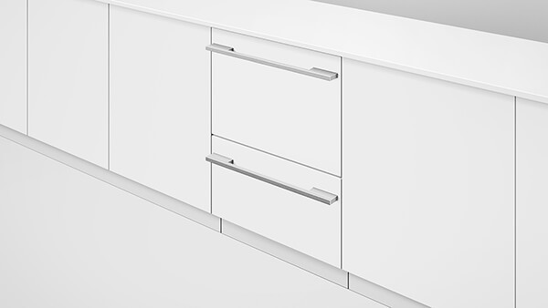 Fisher & Paykel Contemporary Custom Panel Ready Full Size Dishwasher - Double Drawer