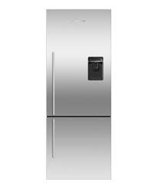 "Fisher & Paykel 25"" Contemporary Freestanding Fridge w/ Water & Ice"
