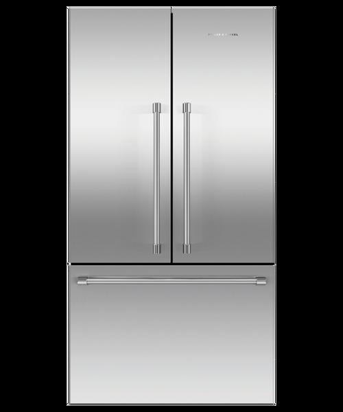 "Fisher & Paykel 36"" Professional Freestanding French Door Fridge w/ Ice"