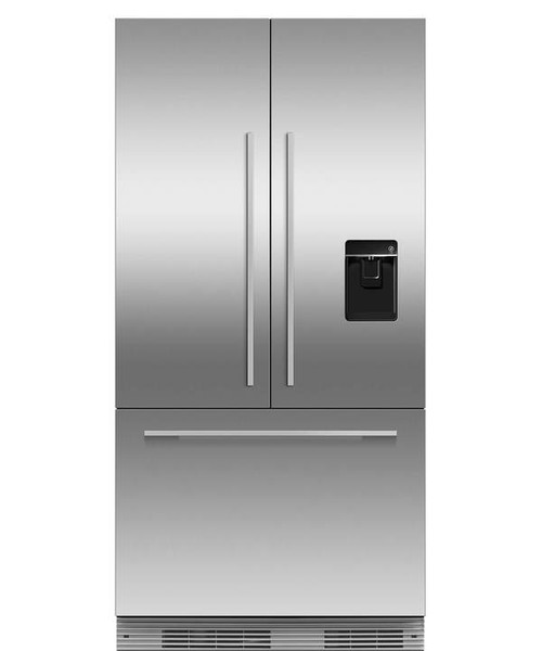 "Fisher & Paykel 36"" Contemporary Integrated French Door Fridge w/ Ice & Water"