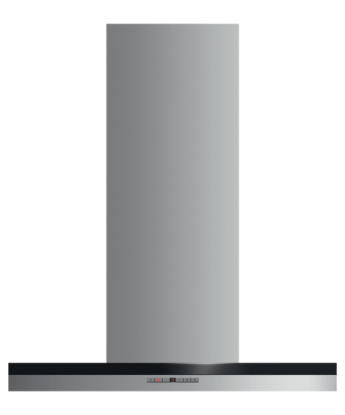 """Fisher & Paykel 30"""" Contemporary Box Chimney Hood"""