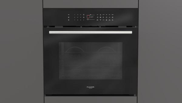 "Fulgor Milano 30"" 700 Series Built-in Oven - Black"