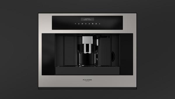 "Fulgor Milano 24"" 700 Series Built-in Coffee Machine - SS"