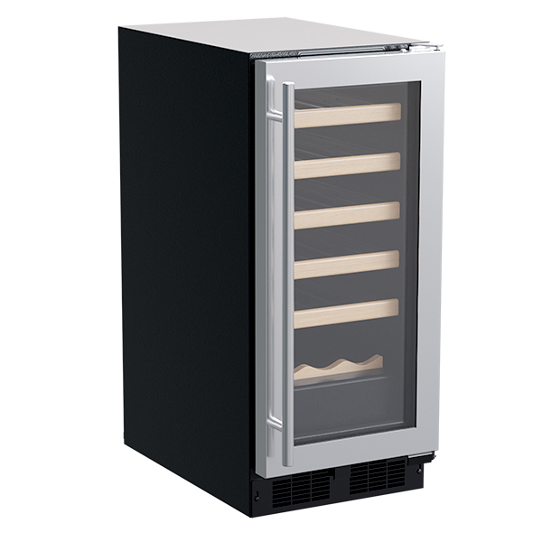 "Marvel 15"" Wine Refrigerator  w/ Wine Cradle"