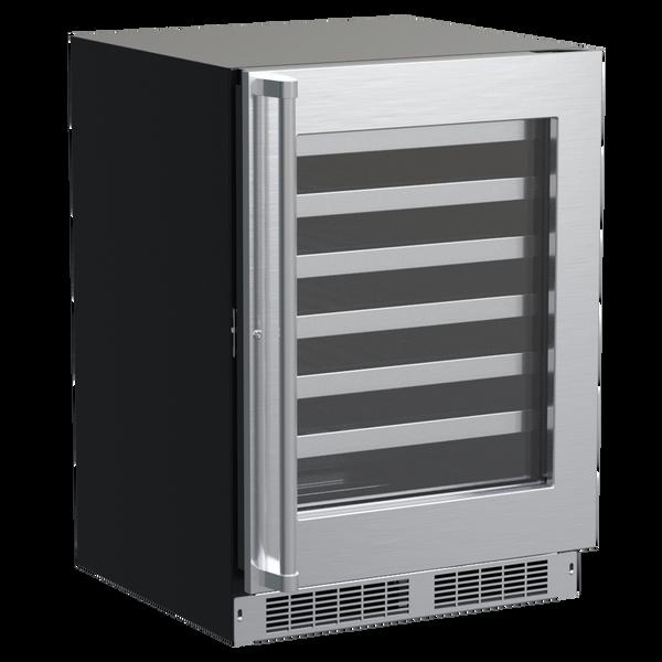 "Marvel 24"" Pro Single-Zone Wine Refrigerator (Door Options)"