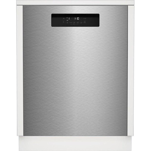 """Blomberg 24"""" Dishwasher w/ Front Control & 8 Cycles - Stainless Steel"""