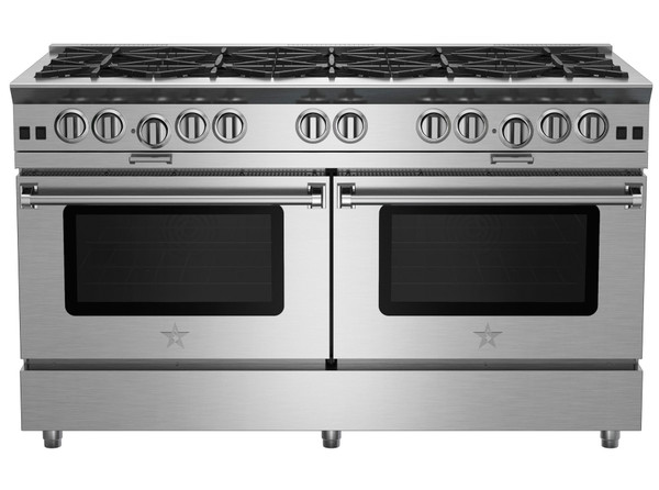 "BlueStar 60"" All Gas Platinum Range"