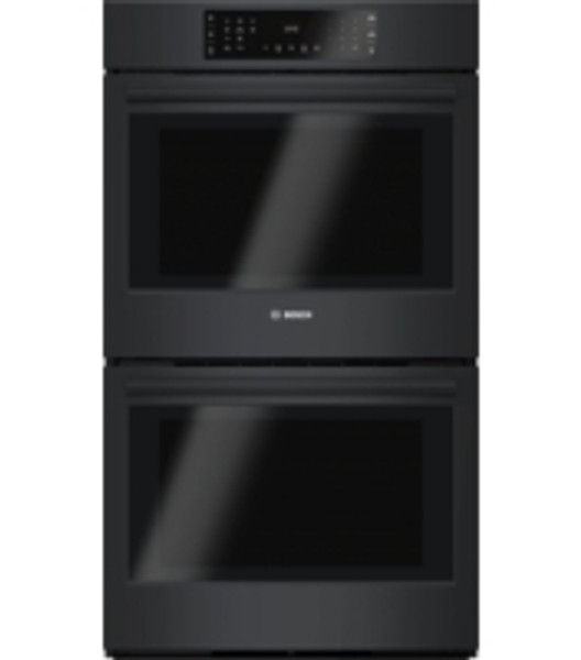 """Bosch 30"""" 800 Series Double Wall Oven - Black"""