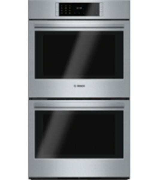 """Bosch 30"""", Benchmark Series, Double Wall Oven - Drop Down Door"""