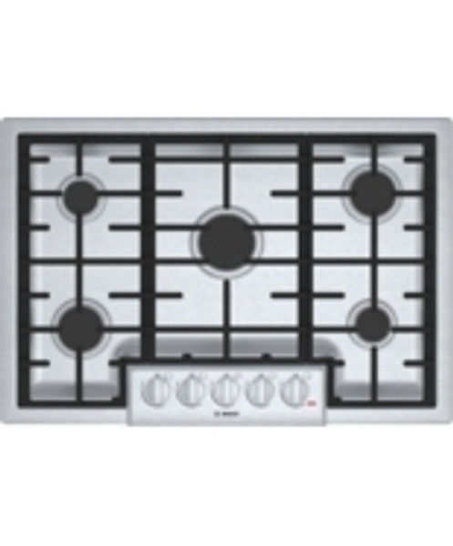 """Bosch 30"""" 800 Series Gas Cooktop - Stainless"""