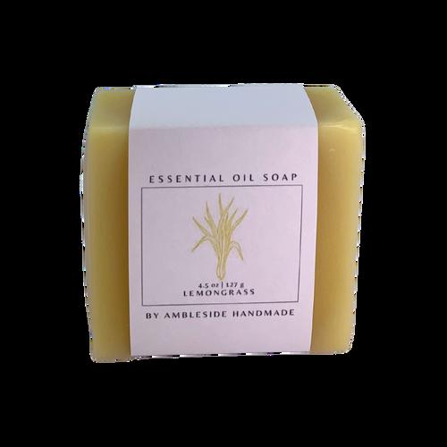 Lemongrass Essential Oil Soap