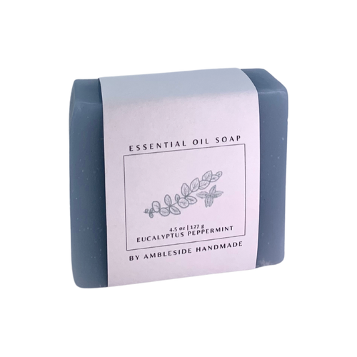 Eucalyptus Peppertmint Essential Oil Soap