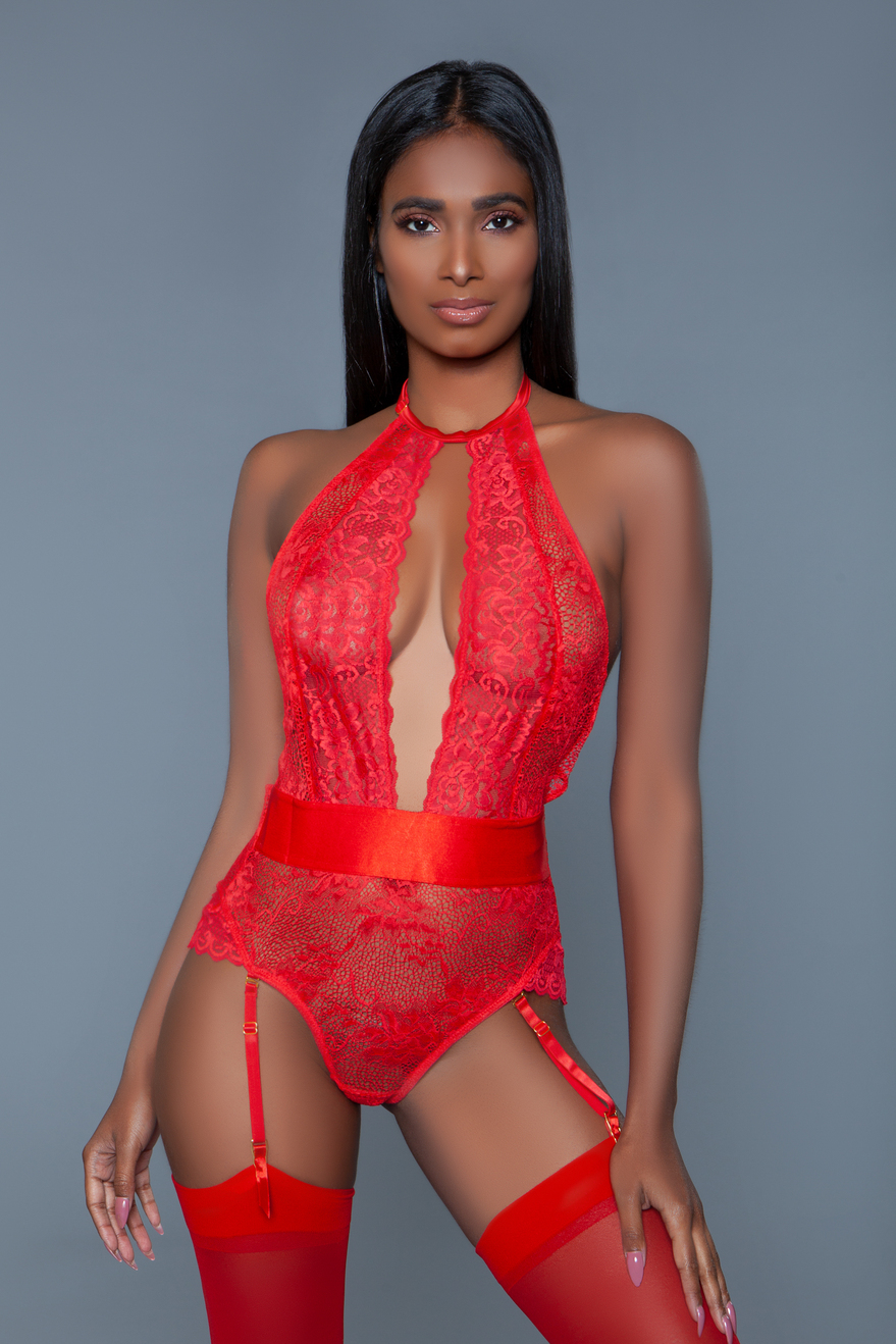 2016 Ophelia Bodysuit Red