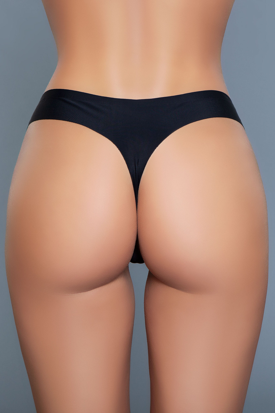 2047 Gemma Thong Black