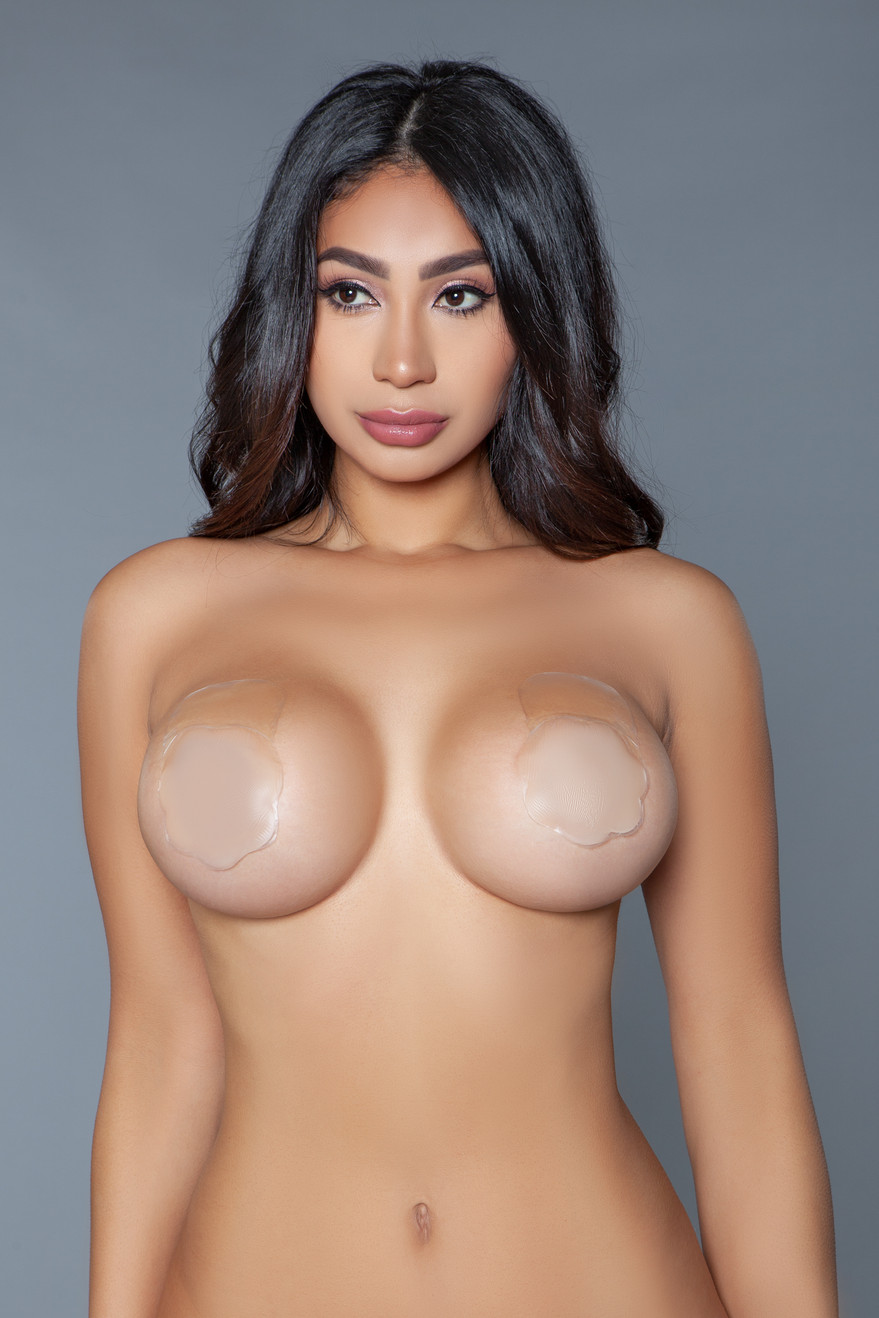 XR021F Flora Nipple Cover Nude