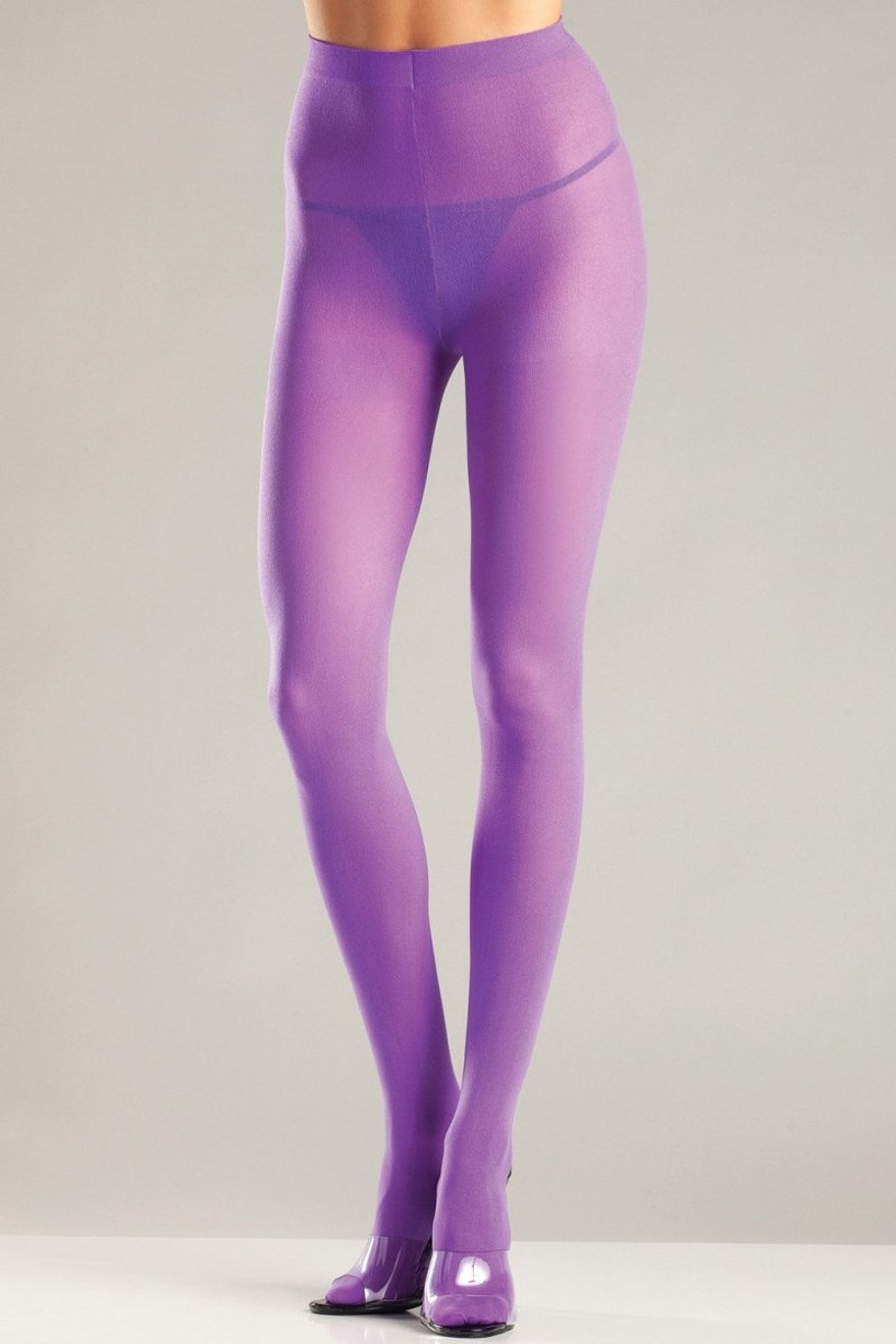 BW620PR Opaque Pantyhose - Purple