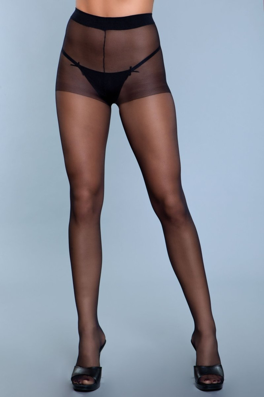 1923 Skin To Skin Pantyhose Black