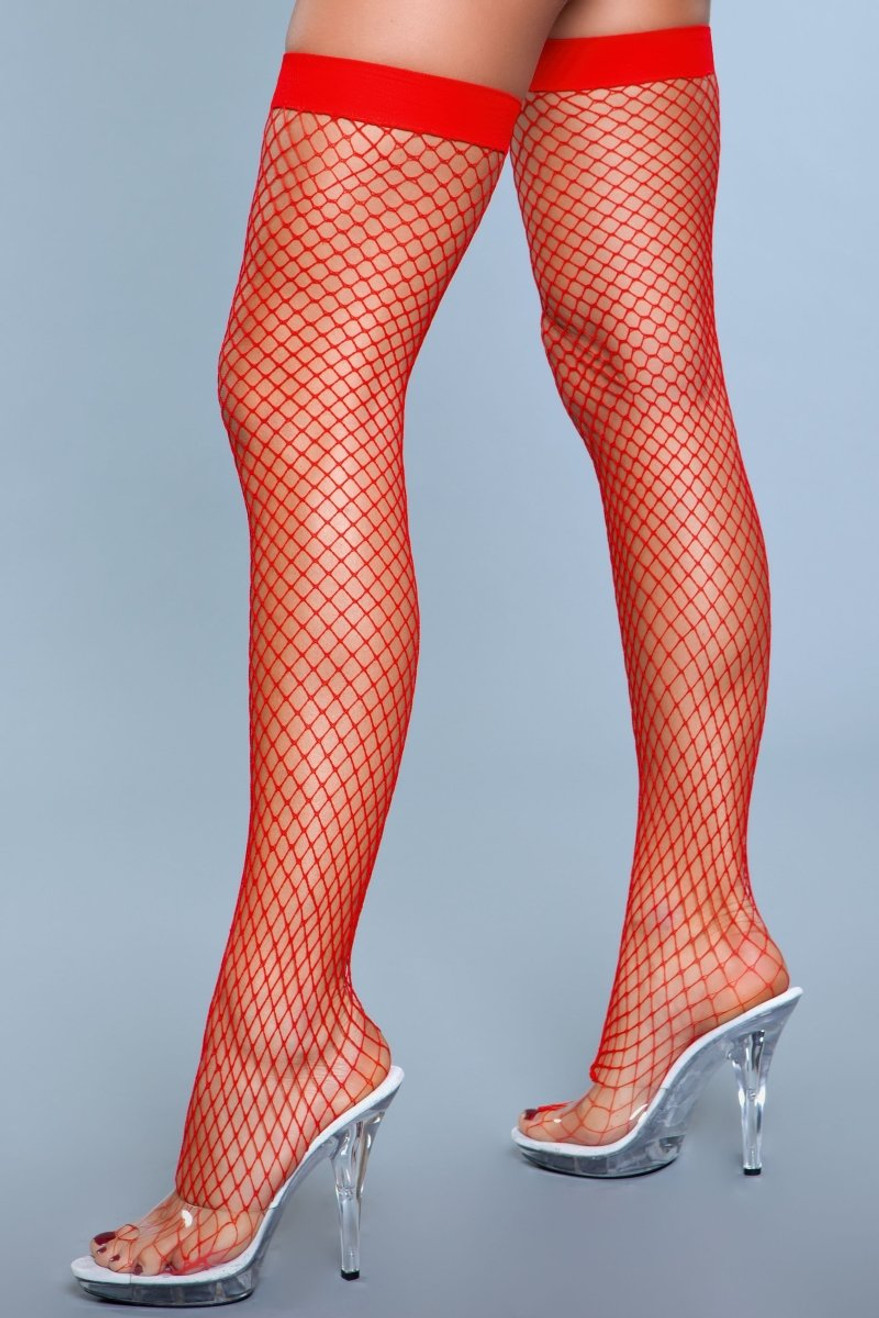 1921 Catch Me If You Can Thigh Highs Red