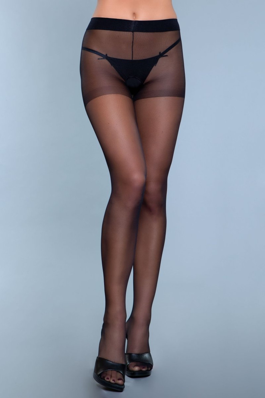 1927 Everyday Wear Pantyhose Black