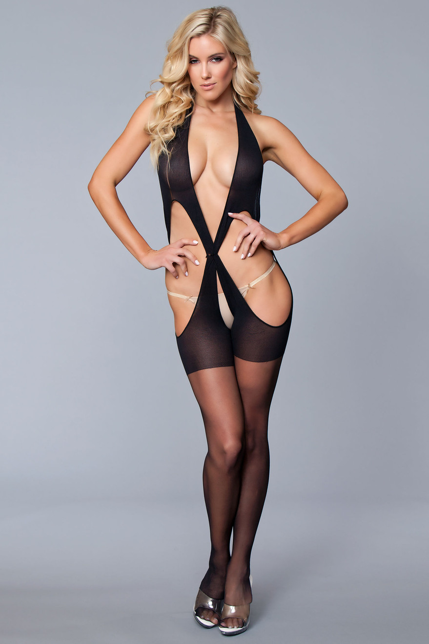 BWB115 Cross the Line Body Stocking