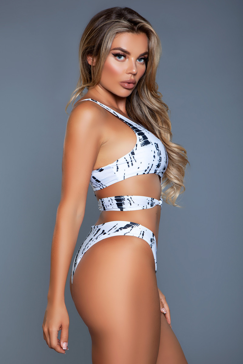 2110 Clara Swimsuit Black/White