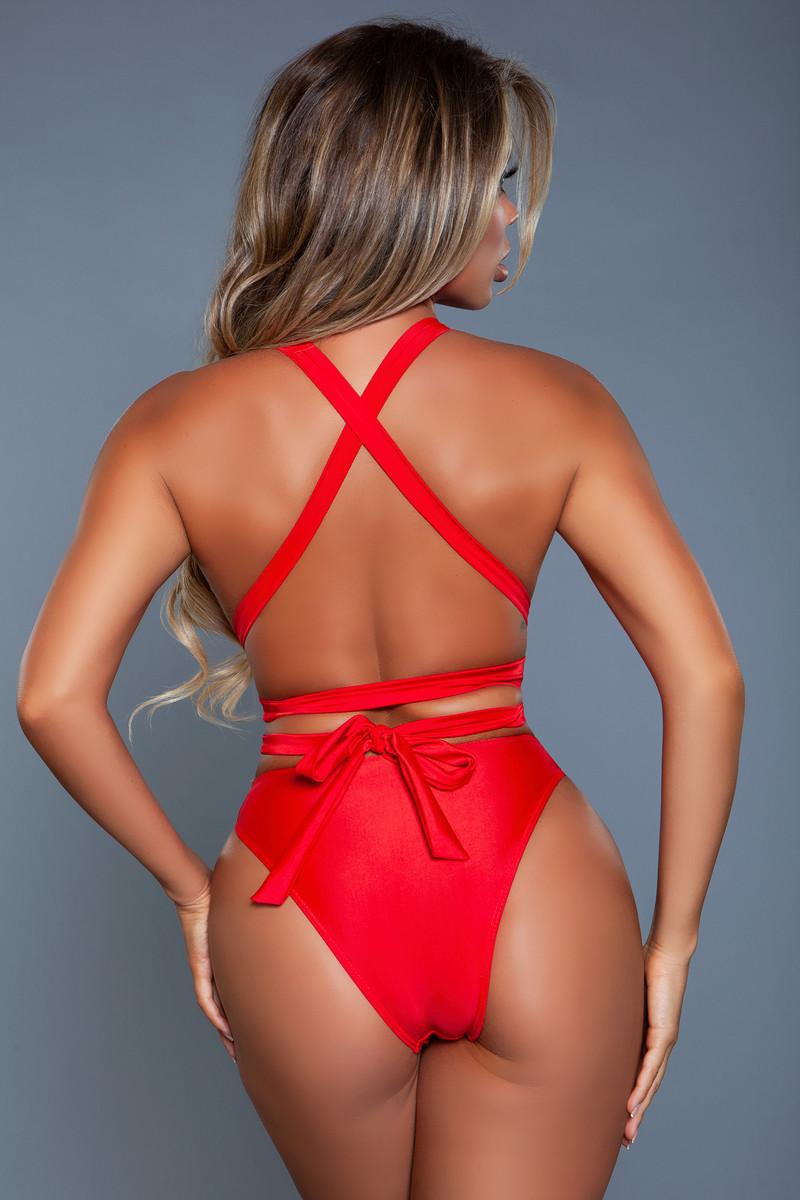 2113 Ezra Swimsuit Red