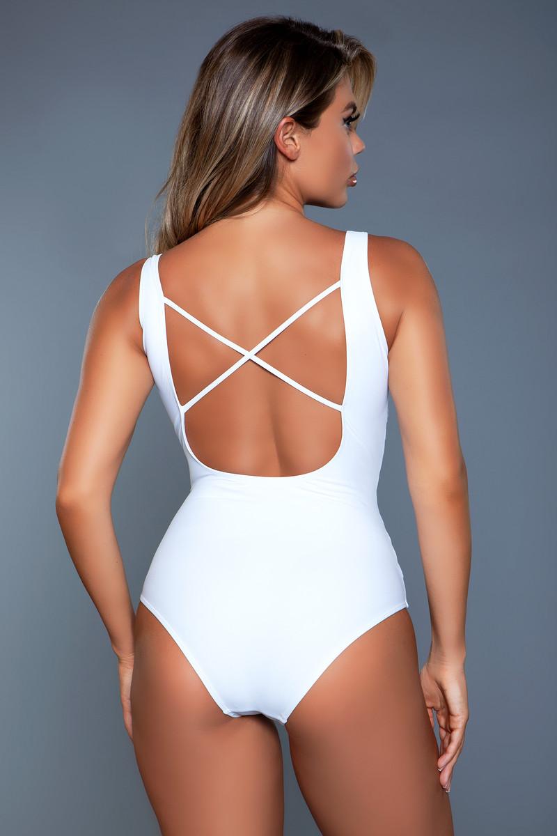 2119 Evie Swimsuit White