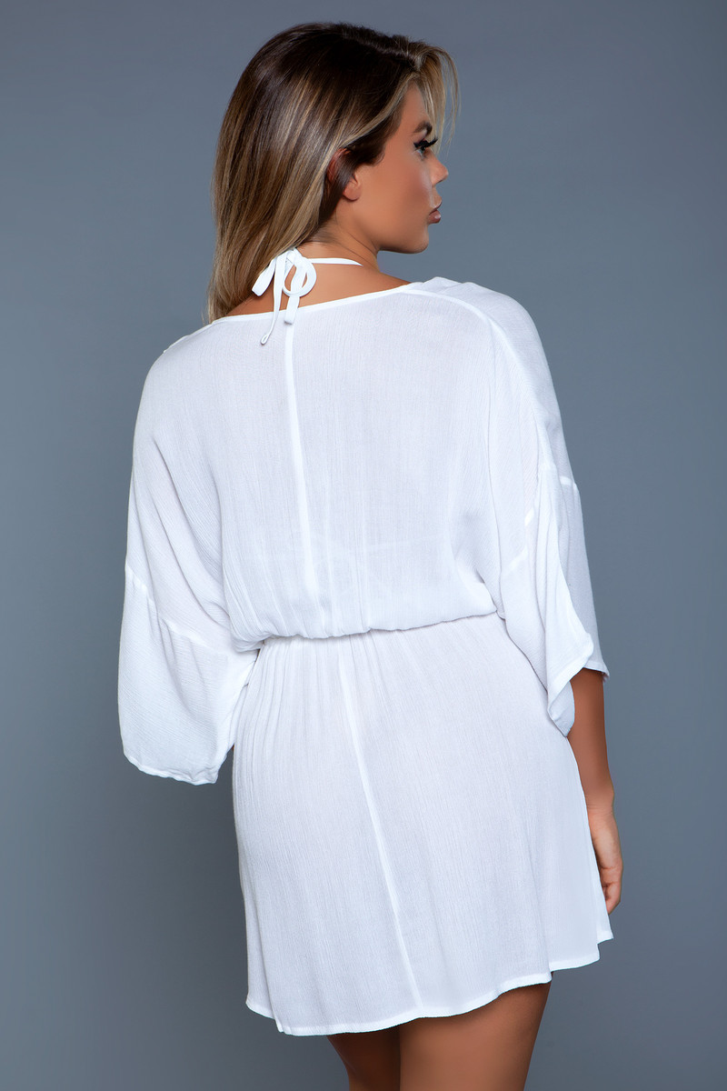 2133 Thalia Beach Dress White