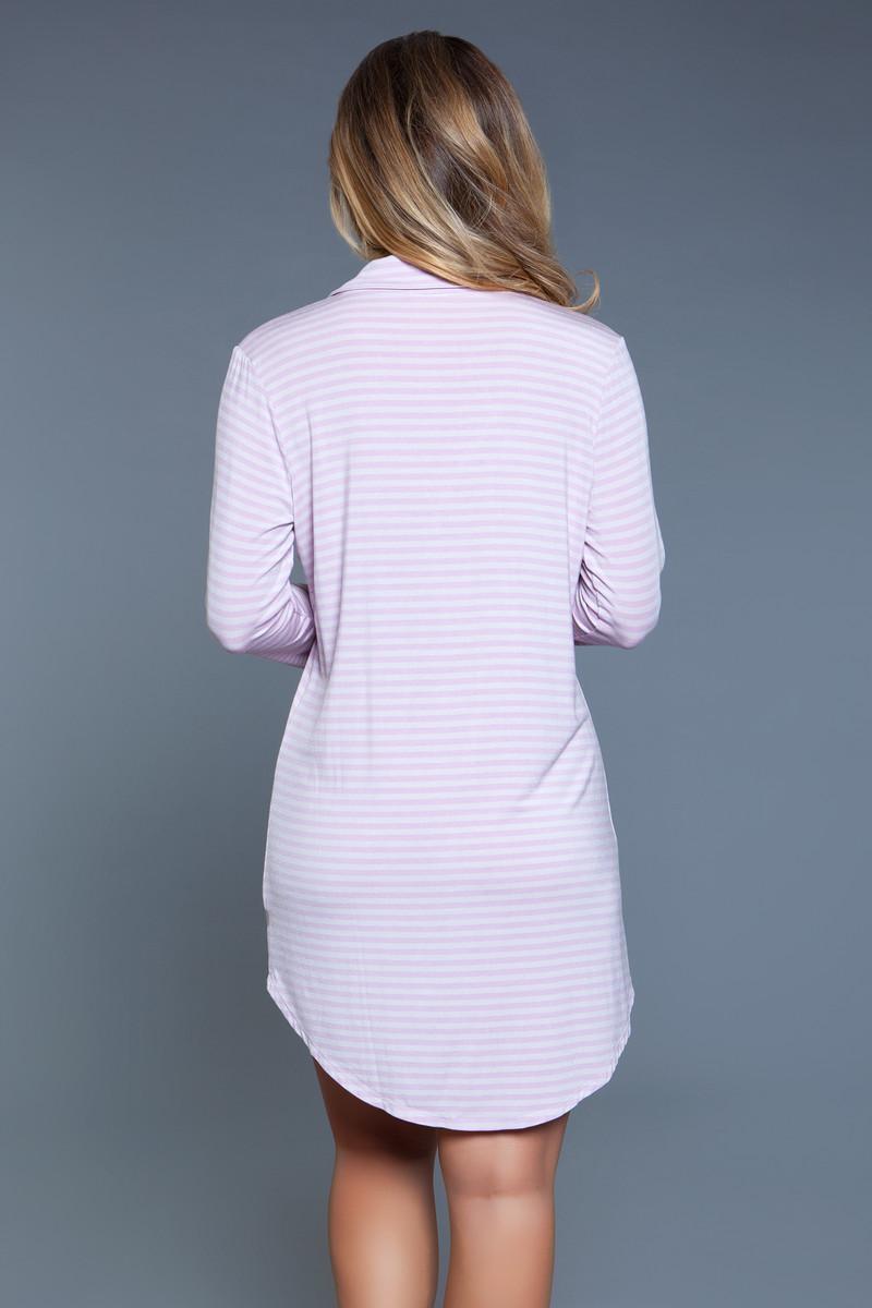 2088 Mahina Sleep Shirt Pink