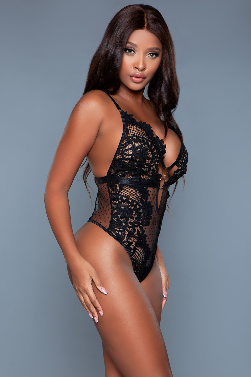 2139 Olivia Bodysuit Black