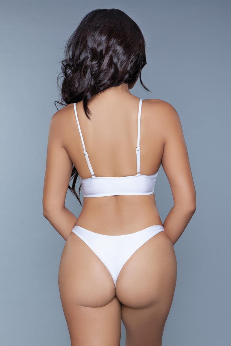 1975 Gianna 2 Piece Swimsuit White
