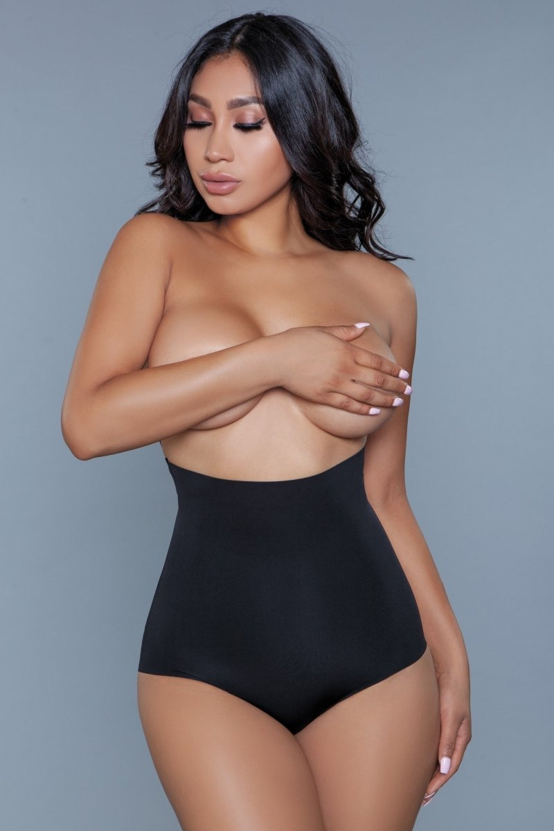 2002 Waist Your Time Shaping Brief Black