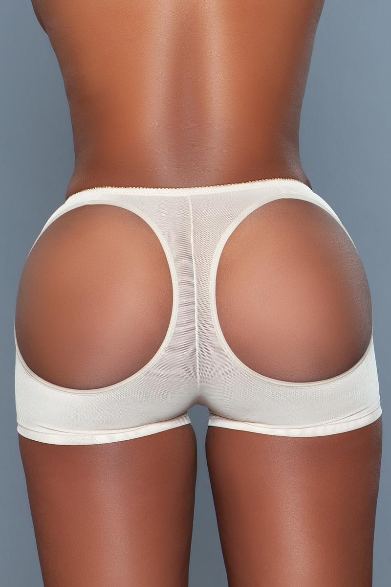 BW1649 Butt Booster Boyshort Nude