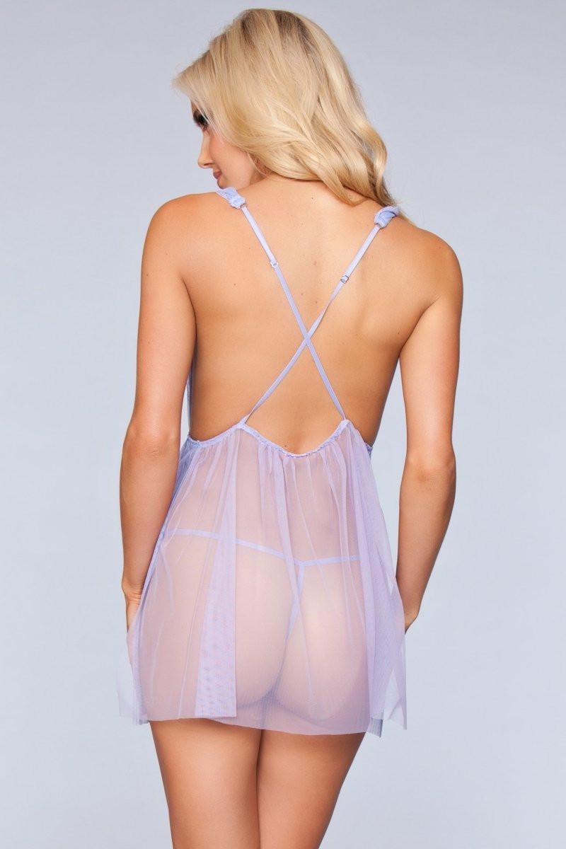 1801 Sweet Dreams Babydoll Lavender