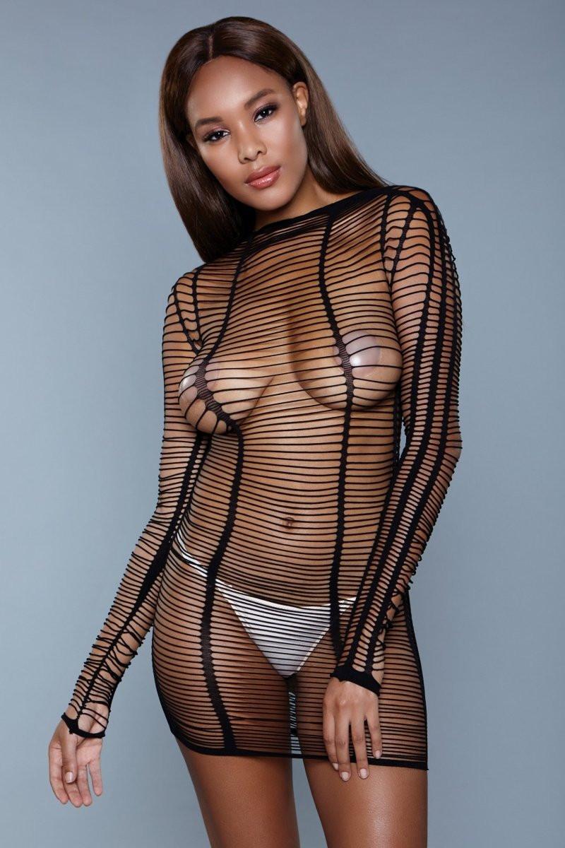 1998 Burn Desire Bodysuit Black