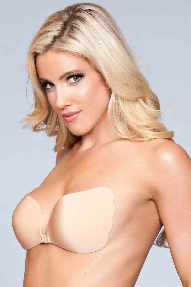 XB069 ND Hooked Up Invisible Bra - Nude